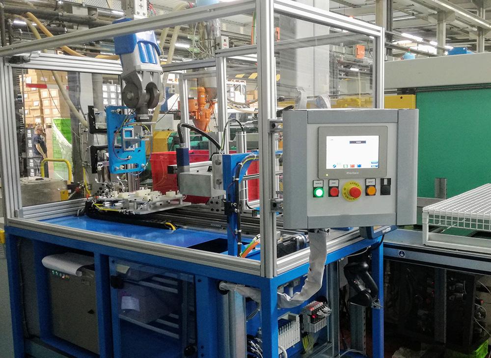 Ligne de production robotisée - 2